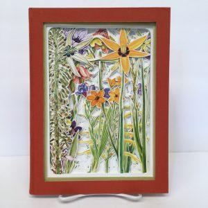 Western Cape Sandveld Flowers Book Carving