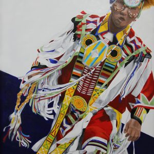 American Indian Dancer.    24 x 36
