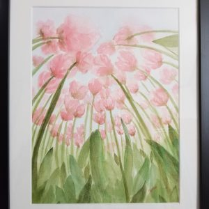 """""""An Ant's View"""" Watercolor 12"""" x 15"""" $75.00"""