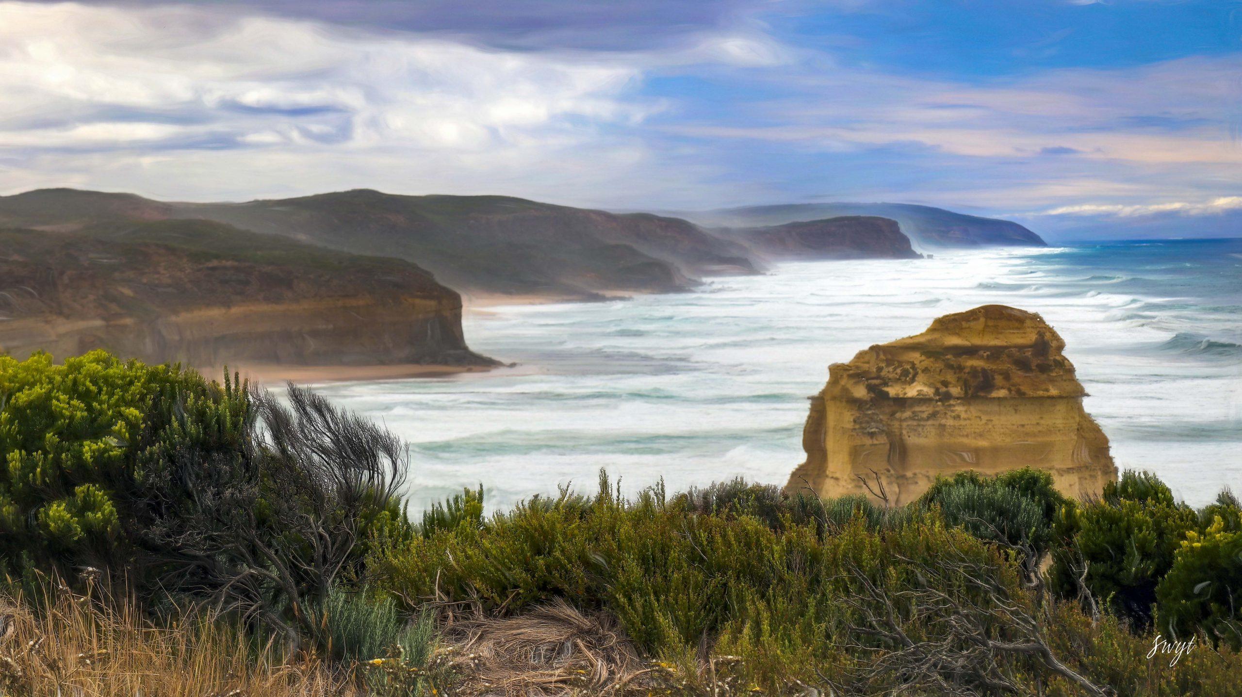 Southern Ocean at Gibson Beach, Australia